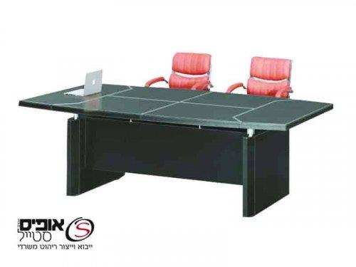 שולחן ישיבות דמוי עור