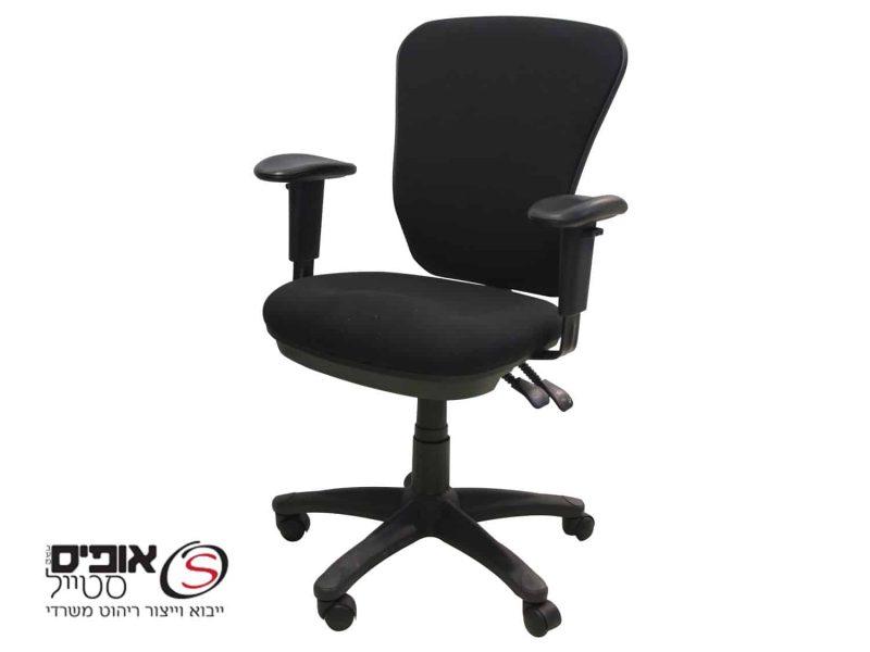 כסא מחשב גל שחור