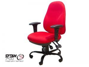 כיסא מחשב יסמין גוף לבן