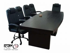 Conference Table made of natural veneer, 2.40
