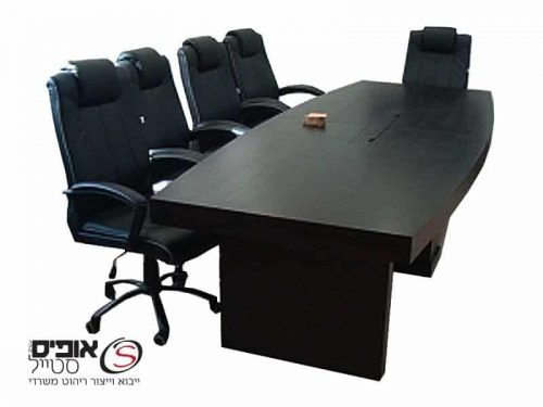 שולחן ישיבות פורניר טבעי 2.40