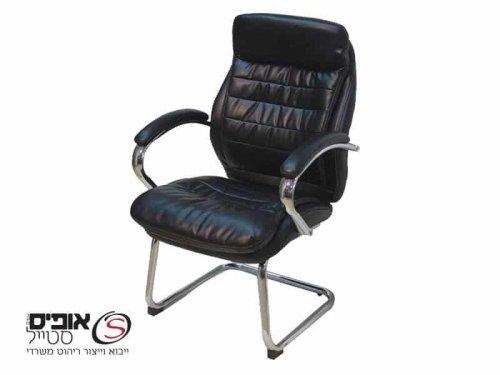 כיסא אורח פטריק שחור