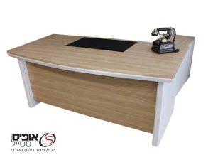 שולחן מנהלים טורינו מידה 1.80/90 כולל שלוחה ומגירות