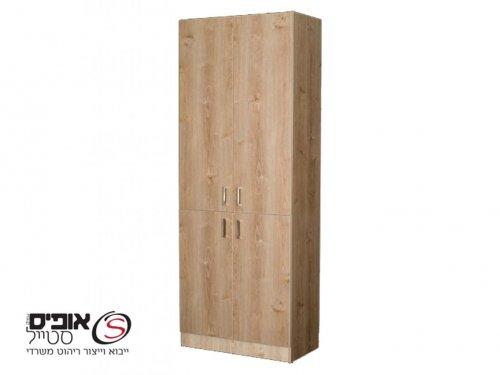 ארון משרדי 4 דלתות פתיחה