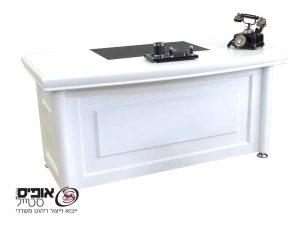 שולחן משרדי  פירנצה לבן
