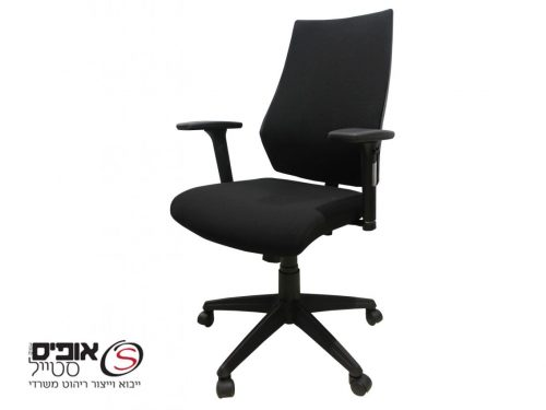 כסא משרדי דגם יובל -גב מרופד