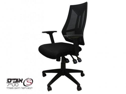 כסא משרדי למחשב דגם יובל - גב רשת