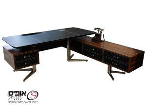 שולחן  דגם טוסקנה בשילוב עץ