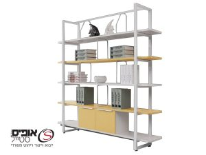 Designed shelving cabinet