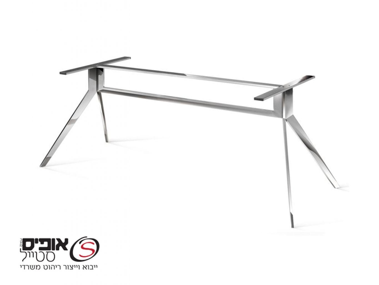 רגל נירוסטה לשולחן חדר ישיבות