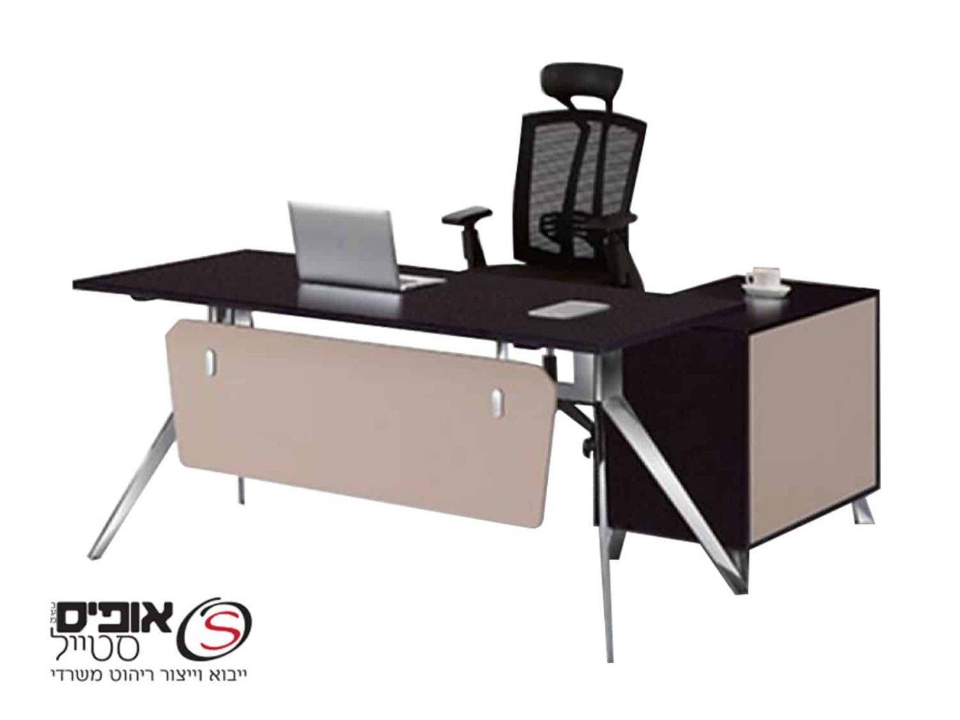 שולחן מנהלים דגם טוקיו 160/80  וונגה