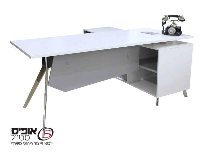 מפוארת שולחנות מנהלים, שולחנות משרדיים שולחן מנהלים טוקיו 180/85 | אופיס QU-29