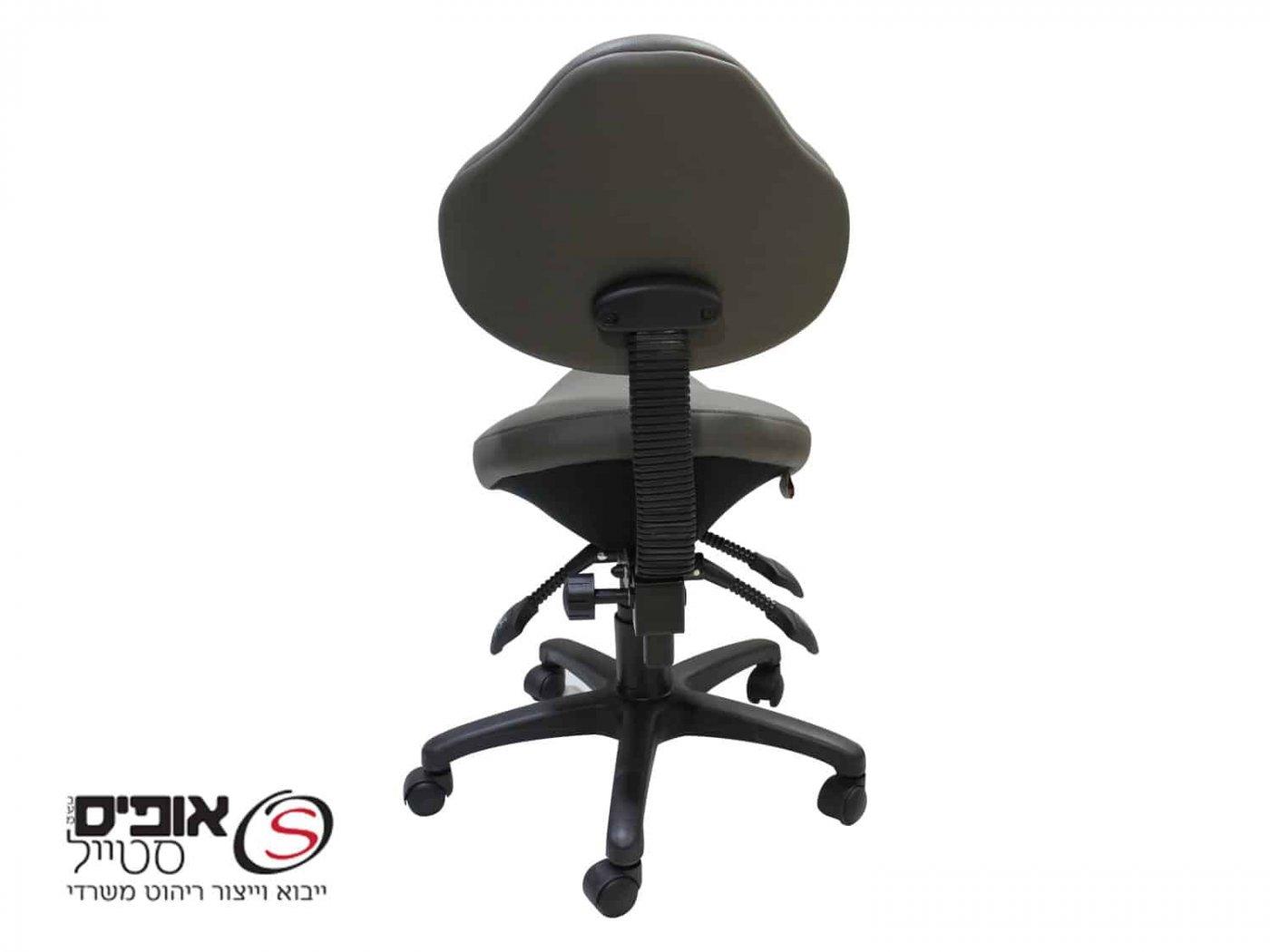 כסא אוכף עם משענת