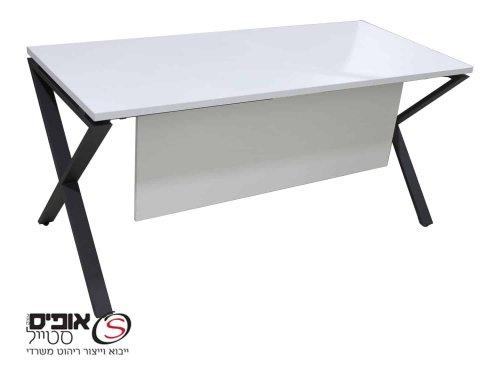 סט שולחן עבודה עם רגל איקס
