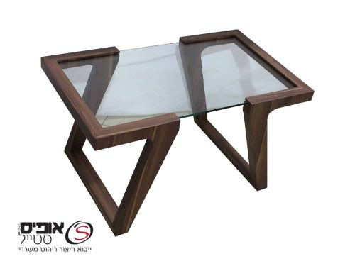 """שולחן  לפינת המתנה דגם """"דור"""""""