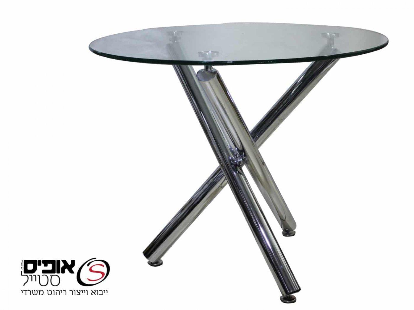 שולחן ישיבות דגם עלמה מזכוכית