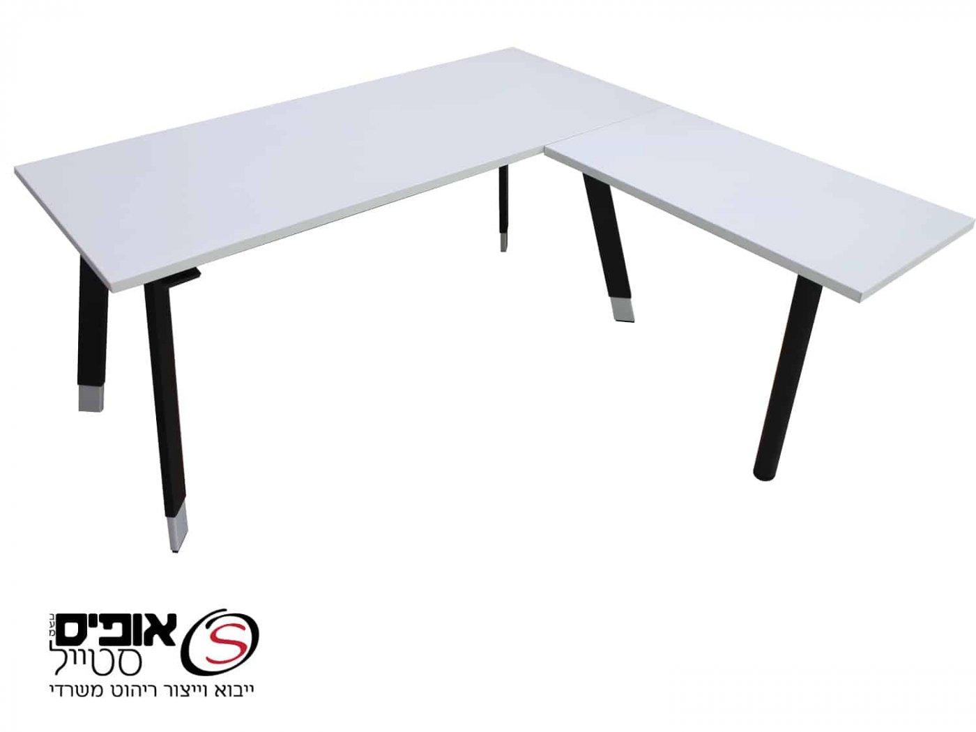 שולחן מחשב לירי עם רגל סטייל