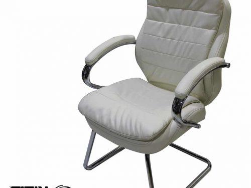 כסא  פטריק לבן