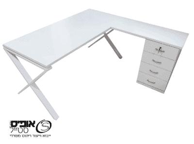 שולחן מנהלים מומלץ סט שלם עם רגל X