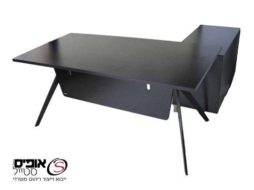 שולחן מנהל דגם טוקיו בשחור