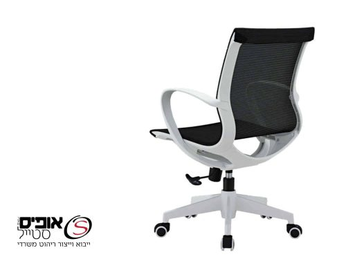 כסא מחשב  לבן  סטפאן